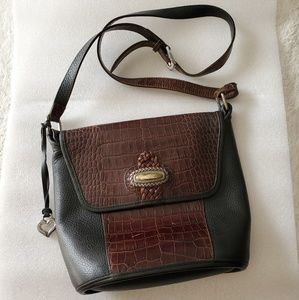 Brighton vintage shoulder bucket messanger bag